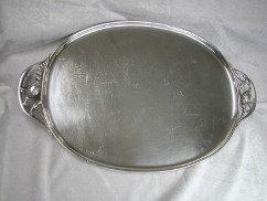 BLOSSOM by Georg Jensen Sterling Silver  TRAY, #2F