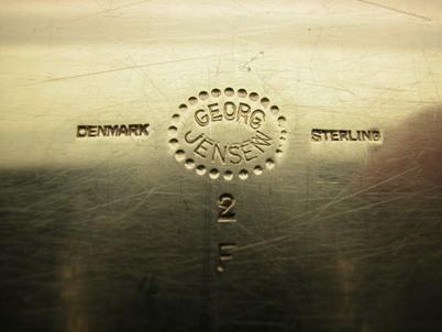 BLOSSOM by Georg Jensen Sterling Silver  TRAY, #2F